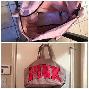 XL Victoria Secret duffle bag